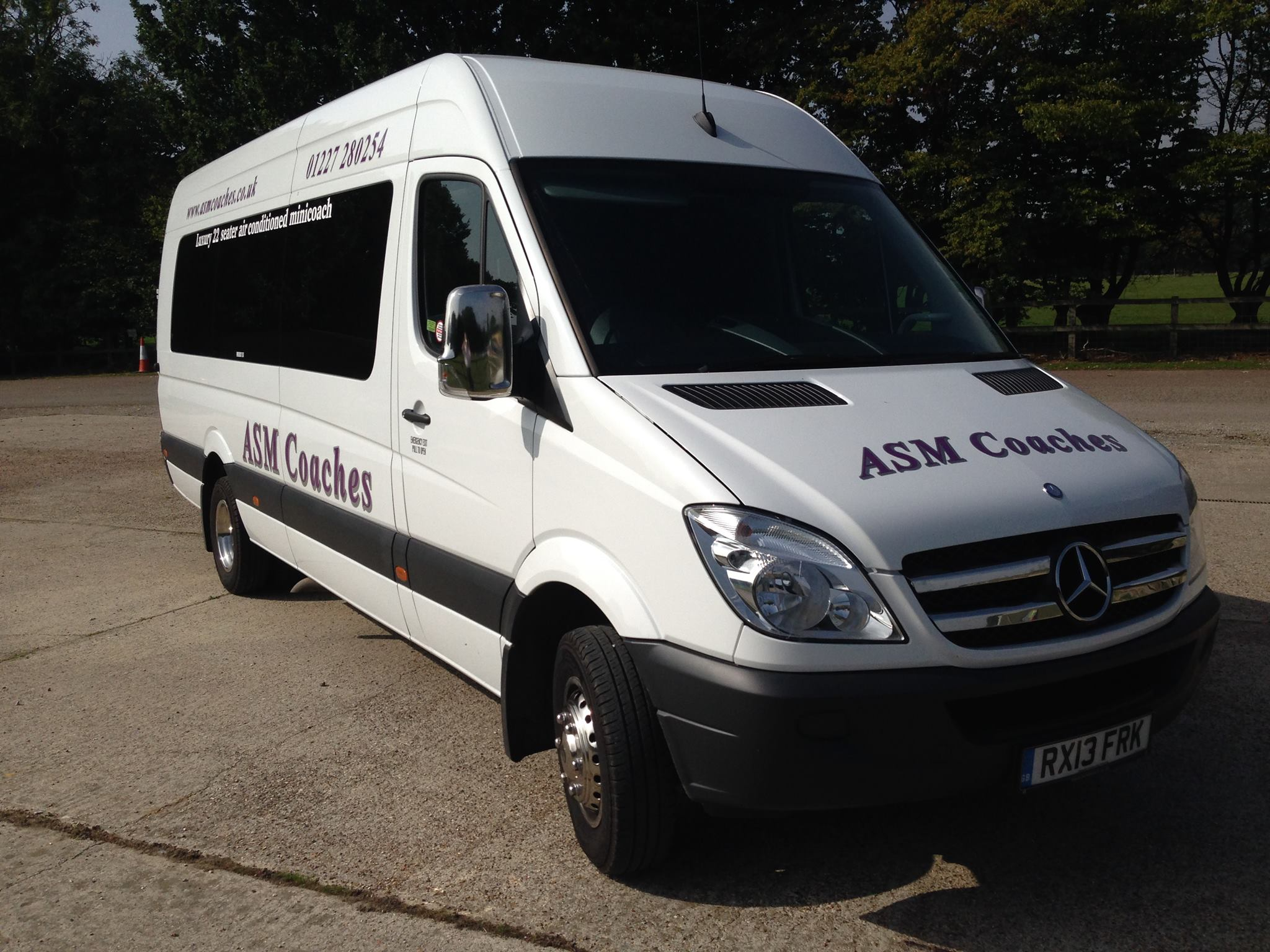ASM Coaches Herne Bay 22 Seater Mini Coach Hire